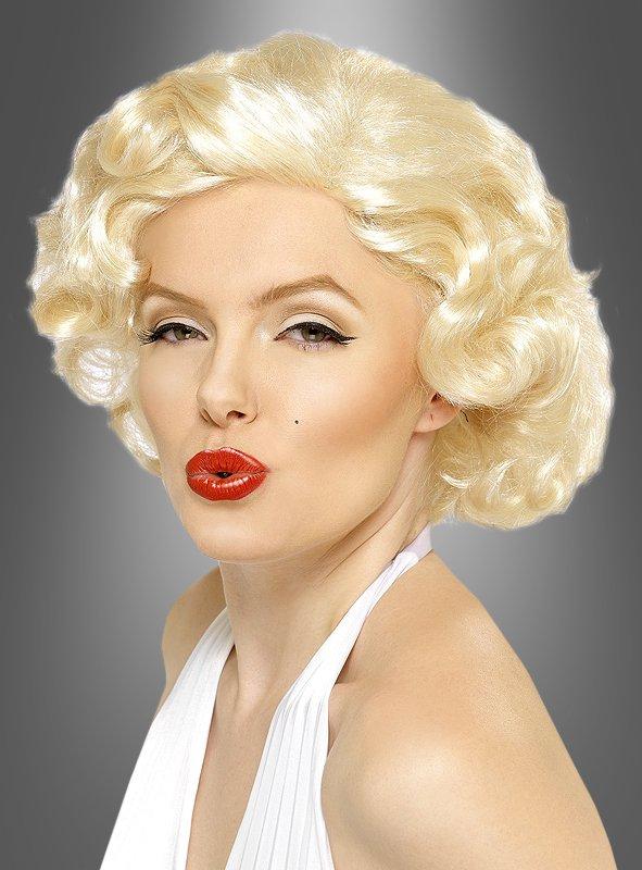 Ein Mythos lebt weiter: Auf jeder Party ist der blonde Lockenkopf der Hingucker. Mit der passenden Perücke wird jede Frau zur legendären Monroe!