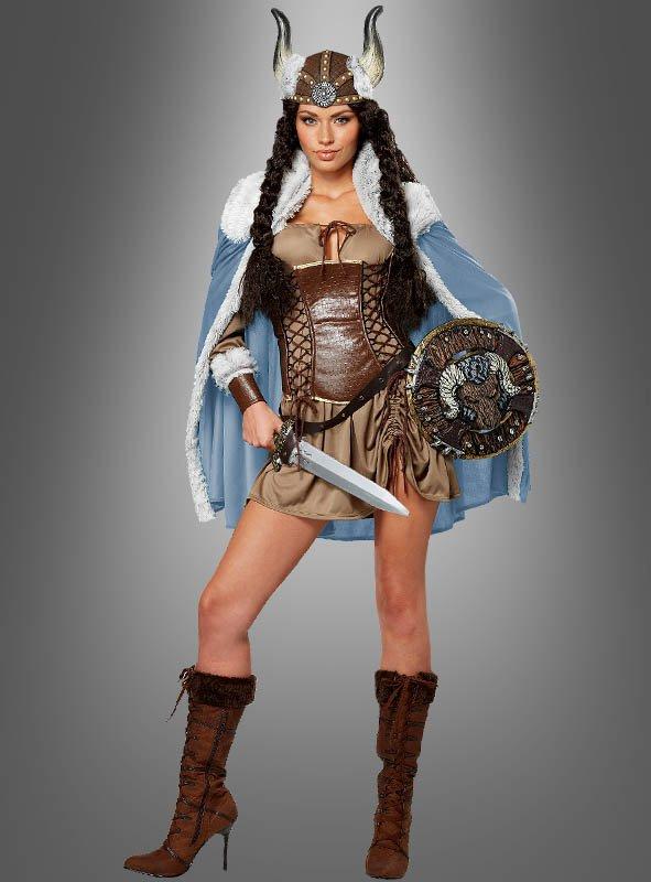 Legendäre Kriegerin: Wikingerin Kostüm Freya