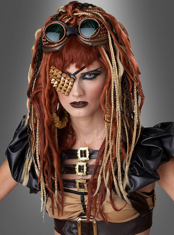 ​Steampunk Dreadlocks Perücke