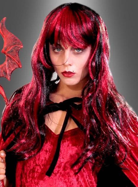  Gothic Vampirin Damenperücke