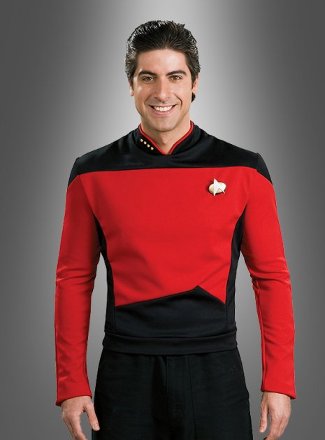 ​ STAR TREK Shirt rot The Next Generation