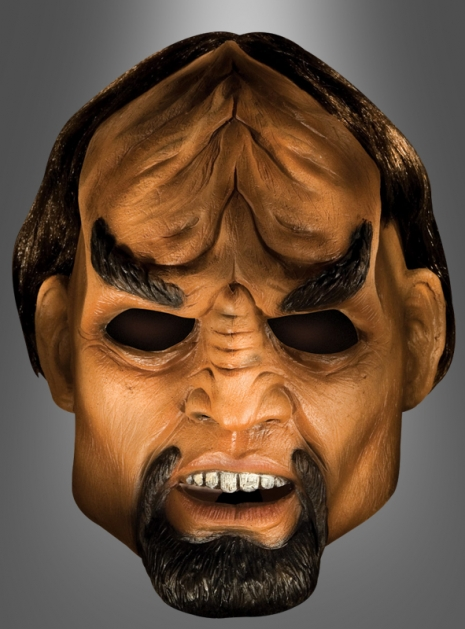 Klingone Maske Worf aus Star Trek